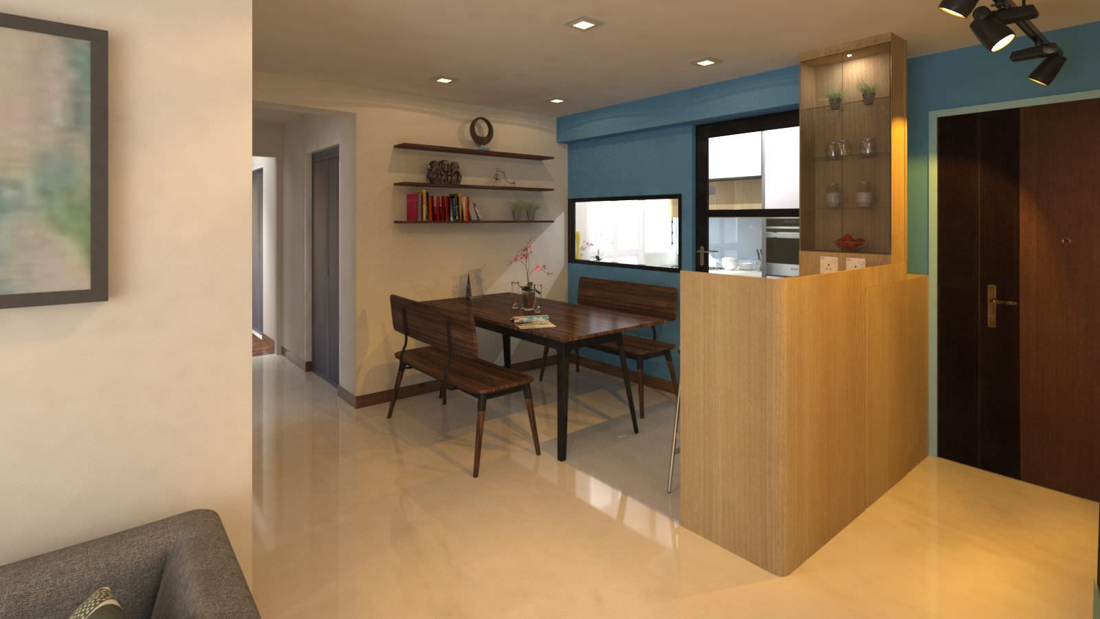 Foyer Interior Visualization